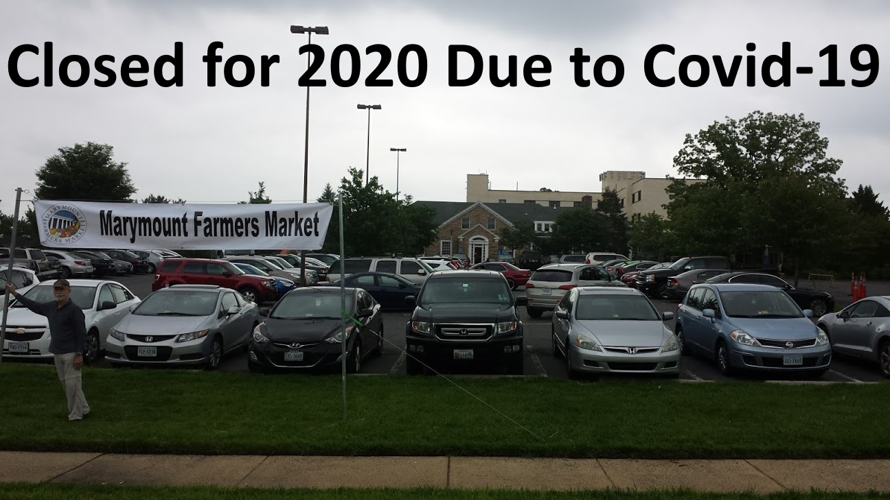 Farmers Market Closed for 2020 due to Covid-19